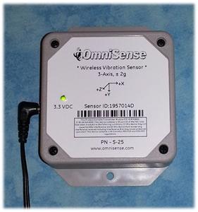 Picture of S-25 Wireless Vibration Sensor